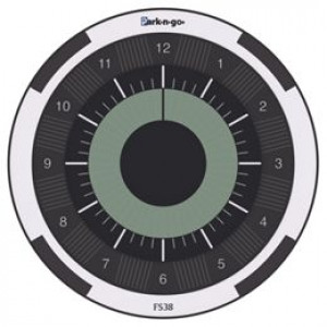 Parkngo Eco p-skive - Silver/Black